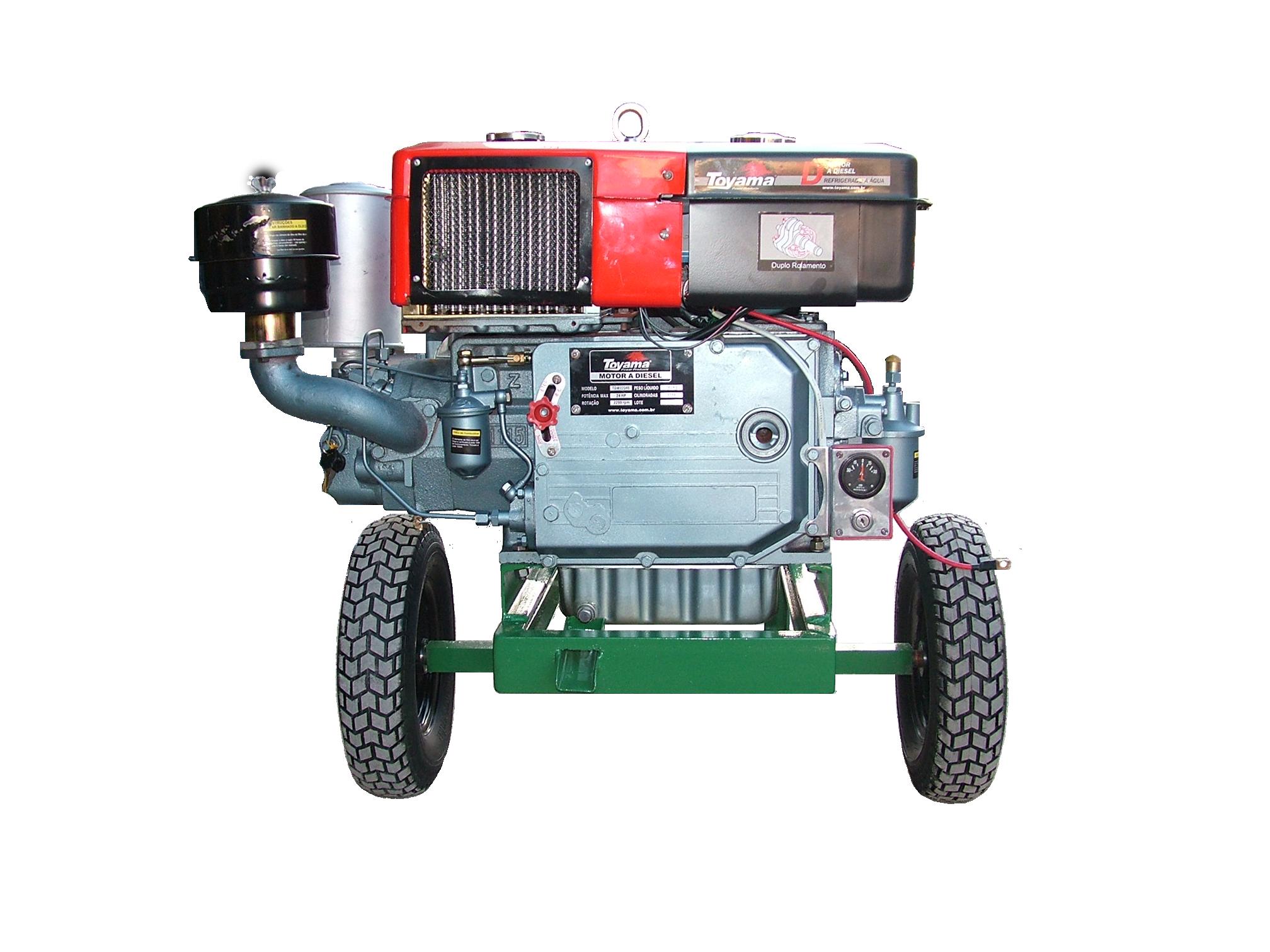Bomba Dagua Fal Diesel 24Hp 2