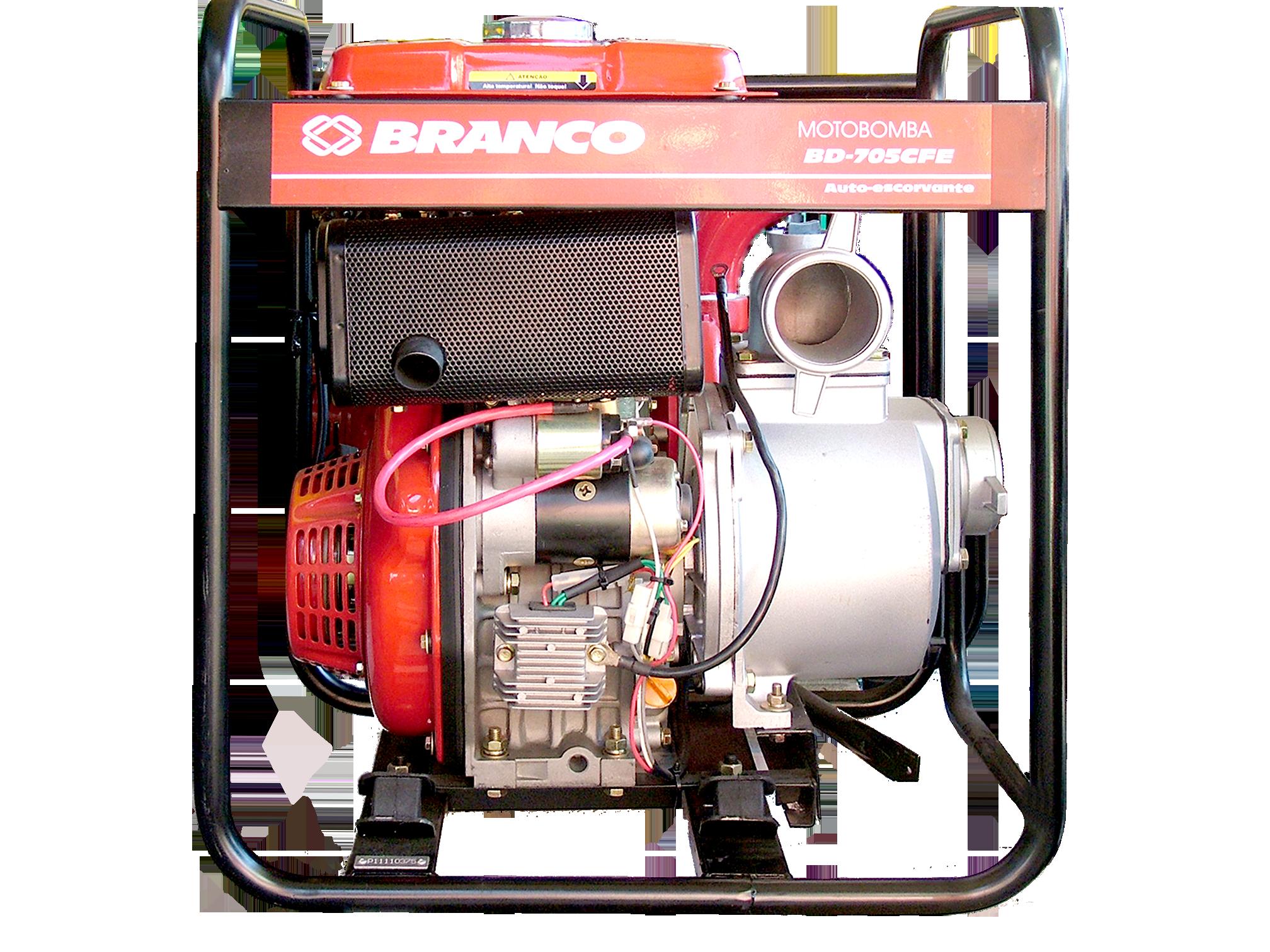 Motobomba Branco BD-705 CFE (Diesel)