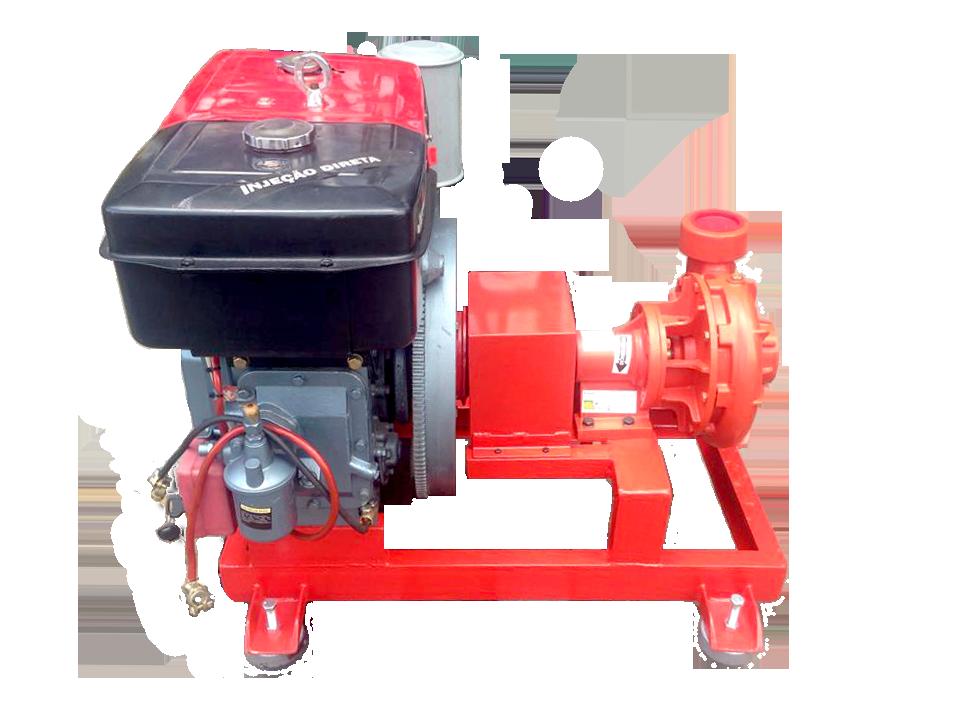Motobomba Para Incendio Diesel 24Hp